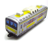 Classic Vintage Clockwork Subway Train Wind Up Reminiscence Children Kids Tin Toys With Key