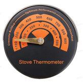 Stufa a legna magnetica Termometro Stufa a ventola per caminetto Termometro Con sonda Strumento per barbecue con sensibilità domestica