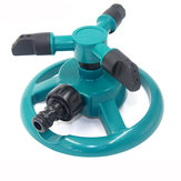 Garden Watering Tools Irrigation Law Sprinkler Automatic Three Arms 360 Degree Rotating Spray Nozzle