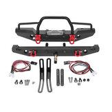Parte anteriore protettiva per paraurti posteriore in metallo per 1/10 RC Crawler Car Traxxas TRX-4 SCX10II 90046