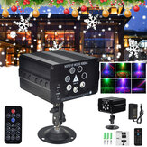 AC110-240V до DC12V 7 отверстий 120 шаблонов LED Stage Лазер Strobe Проектор Sound Light Disco DJ KTV