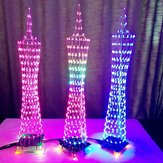 Geekcreit® DIY LED Light Cube Canton Tower Suite Wireless Remote Control Electronic Kit