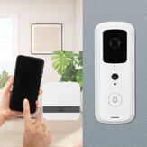 Wireless Smart WiFi Door Bell IR Video Visual Camera Intercom Home Security Kit