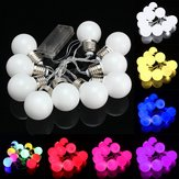 10 LED Batterij Mini Festoon Fee String Gloeilamp Kerst Wedding Garden Lamp