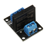 BESTEP 1 Channel 5V Low Level Solid State Relay Module With Fuse 250V2A For Auduino