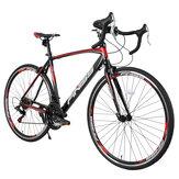 [US Direct] 700 * 28C 21 velocidades bicicleta de estrada liga de alumínio sólida bicicleta ao ar livre ciclismo mountain bike para homens e mulheres
