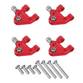 URUAV 4Pcs/Set WLtoys Metal Upgrade Front And Rear RC Car Lower Arm For 1/28 P929 P939 K969 K979 K989 K999 RC Car Parts