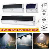 Waterproof PIR Motion Sensor 9/21/33LED Solar Power Wall Light Outdoor Garden Yard Home Lamp