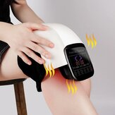 Electric Infrared Heating Knee Massager Air Pressure& Vibration Physiotherapy Instrument Knee Massage Rehabilitation Pain Relief
