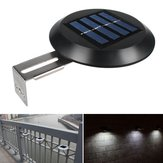2pcs 9 LED Solar Powered Wall Light Waterproof Outdoor Garden Fence Landscape Lamp
