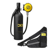 DIDEEP X4000 Pro 1L Mini SCUBA Tank Diving Set Cylinder Oxygen Tank Underwater Freedom Breath Equipment