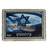 Coperta decorativa pieghevole Tappeto da preghiera con arazzo lavorato a maglia Middle East Asciugamano per divano per tessuti per la casa