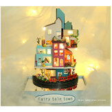 TIANYU TC2 Cloud Town DIY House Cloud House Candy Color Town Art House Creative Gift With Dust Cover