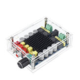 TDA7498 Stereo 2X100W Dual Channel  High Power Digital Computer Power Amplifier with Acrylic Shell