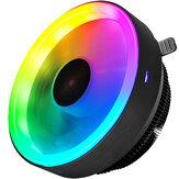 COOLMOON RGB CPU Cooler Heatsink LED 12V for Intel AMD PC Processor Desktop Cooling Radiator