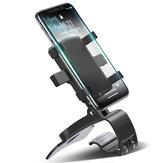 FONKENダッシュボード車の電話ホルダー180度モバイルスマートフォンスタンドバックミラーサンバイザー車のGPS 7インチデバイスの下のナビゲーションブラケットPOCO X3 NFC