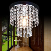 20*20CM Aisle Bedroom Crystal Chandelier Pendant Lamp Ceiling Light Lighting Fixture