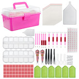 119Pcs Diamond Painting Tool Kit Suit Kit Hand borduur kruissteekaccessoire