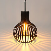 E27 Pendant Light Ceiling Lamp Shade Fixture LED Iron Modern Chandelier Decor Without Bulb