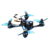 Eachine Wizard TS130 FPV Yarış Drone PNP Omnibus F4 OSD 20A Dshot600 40CH Akıllı Ses 200mW VTX