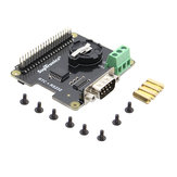 X230 RS232 Seria مدخل & Real-time ساعةحائط (RTC) Expansion Board for Raspberry Pi
