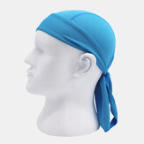 Quick-drying Turban Perspiration Breathable Sunscreen Outdoor Riding Pirate Hat Bandana Head Bands