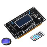 12V Multifunction LCD Capacitive Touch Screen SD Bluetooth Audio Decoder Board MP3 Player Radio USB WMA WVA FLAC Lyric Show