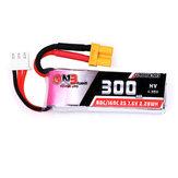Gaoneng 7.6V 300mAh 80C / 160C 2S HV 4.35V XT30 Lipo Batterie pour BETAFPV Whoop Quadricoptère