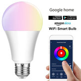 E27 E26 B22 RGBW Smart LED Light Bulb 7W WiFi IOS Android Amazon Alexa Google Lamp AC85-265V