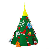 DIY Felt Christmas Tree Christmas Handmade Puzzle Decorations Home Desk Ornament Creative Gifts for Kids