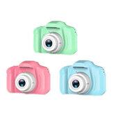 1080p HD 13 Mega pixels crianças mini câmera digital filmadora com 2.0in IPS LCD tela 400mAh recarregável Bateria crianças brinquedos