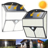 1/2Pcs 436LED Solar Light Infrared Motion Sensor Garden Security Wall Light New