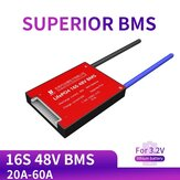 DALY BMS 16S 48V 20A 30A 40A 60A 3.2V Life Po4 18650 PCM Battery Protection Board BMS PCM with Balanced Lithium Battery Module