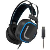 MORADI V10 سماعات الألعاب السلكية HIFI USB 7.1 الصوت المحيطي 50 مم ديناميكي السائقين RGB مضيئة فوق الأذن سماعة الألعاب للكمبيوتر مع ميكروفون