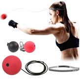 Head-mounted Boxing Speed Ball Decompression Training Hand Eye Coordination Sports Fitness
