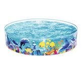 屋外の家具のための携帯用Flodingのプールポリ塩化ビニールの家族の遊ぶ浴槽の夏および子供の池