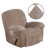 Recliner Cover Non Slip Stretch Suede Couch Armchair Chair Covers Protector