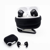 Bakeey 2-IN-1 Soft Silicone Shockproof Storage Protective Case + Earphone Sleeve for Apple Airpods 3 Airpods Pro 2019