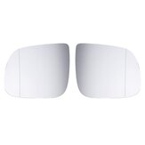 Left/Right Antifog Heated Rearview Mirror Glass For Audi Q5 Q7 2008-2016