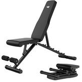 Adjustable Folding Sit Up Benches Abdominal Muscle Training Machine Home Gym Fitness Equipment