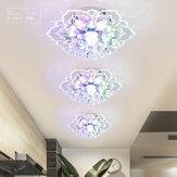 Lampadario moderno in cristallo LED Lampada a sospensione lampada Lampadario di illuminazione 9W Nuovo