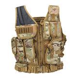 KALOAD19Áogiápquânsự chiến thuật Molle Combat CS Assault Vest bảo vệ