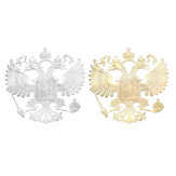97 x 97 mm Coat of Arms of Russia Car Body Copper Sticker Russian Eagle Decal Decoration Stickers