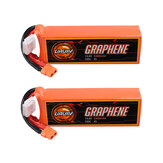 2 قطعة URUAV GRAPHENE 4S 14.8V 3300mAh 95C Lipo البطارية XT60 Plug for FPV RC Racing Drone