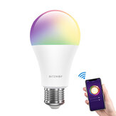 BlitzWolf® BW-LT21 RGBWW 10W E27 APP Smart LED-lamp Werkt met Amazon Alexa Google Assistant AC100-240V