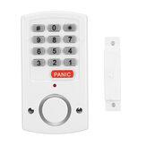 Intelligens jelszó ajtó és ablak riasztó elektronikus ajtó és ablak riasztó