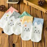 Frauen nette Baumwollkarikatur Socken Candy Bar Antenne Catwoman Unsichtbare Socken