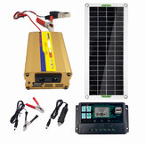 220V Solar Power System 30W Solar Panel 220W Inverter 10A Controller Kit Solar Panel Battery Charger