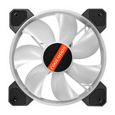 Fan Cooler PC Computer RGB Adjust LED Fan Cooler 12V 6Pin 120mm Cooling Fan Heatsink Silent Fan Gaming Case Cooler Fan With Controller