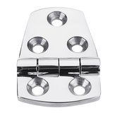 57x38mm Stainless Steel Shortside Offset Hinges Heavy Duty Boat Marine Flush Hatch Compartment Hinge
